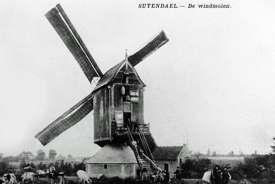Sprinkelermolen, Windmolen Zels